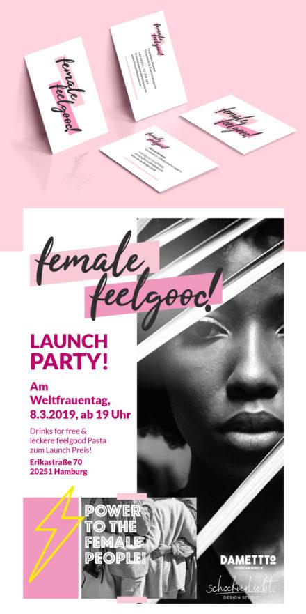 female feelgood | Corporate Identity